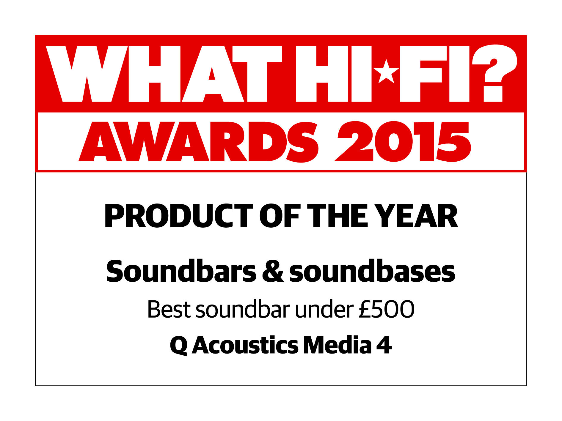 What HiFi? Product of the Year logo